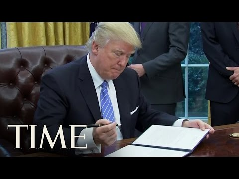 Donald Trump Just Took His First Steps on 'America First' | TIME