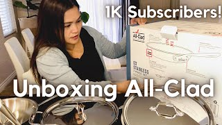 Unboxing All-Clad | Thank you for 1K Subscribers!
