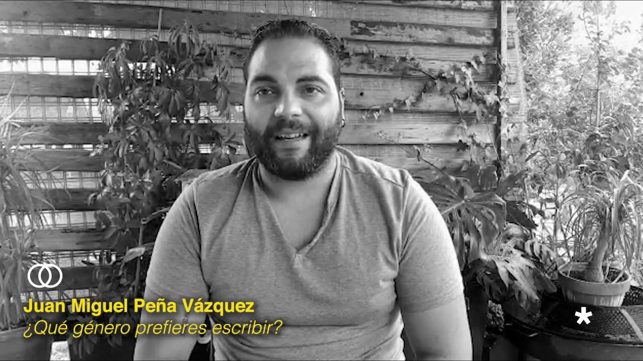 Asterisco Escritores: Entrevista Juan Miguel Peña Vázquez
