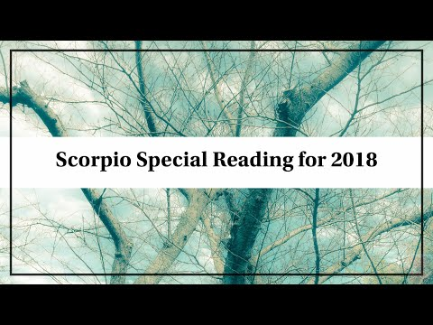 Scorpio - 12-Month Spread December Special Reading: New Spread!!***