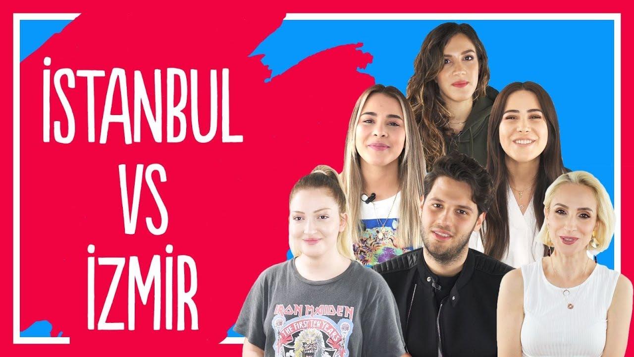 #22 İZMİR vs İSTANBUL | DANLA BİLİC, TATLICI, SEBİBEBİ, BELİZ ŞEN, ECE TARGIT