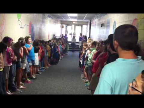 East Washington Elementary School Visit
