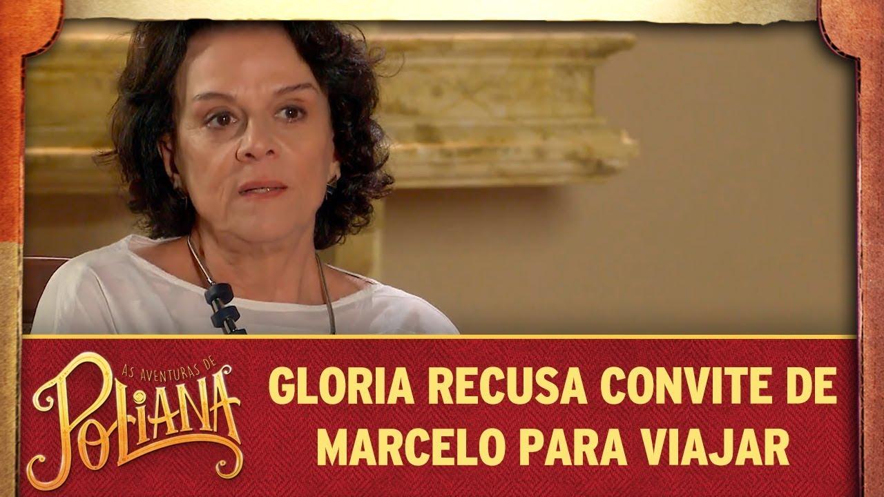 Gloria recusa convite de Marcelo para viajar com Luísa | As Aventuras de Poliana