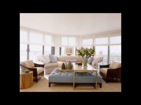 Condo diseño de la sala de estar