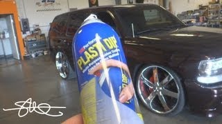 An Easy New Look - Plasti Dipping 26