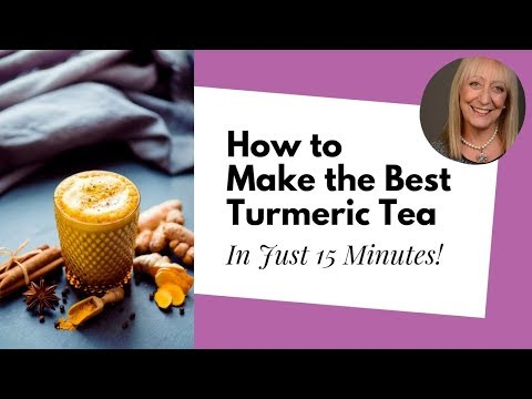 How to Make the Perfect Homemade Turmeric Tea in Just 15 Minutes