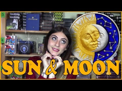 ☀️ SUN AND MOON 🌙 REVIEW - Celestial Bodies - 2 Oz Silver Coin - Niue 2017