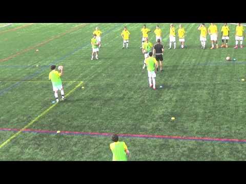 U14 DA First Touch Activity