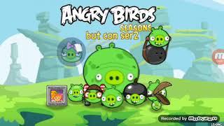 Angry Birds Seasons Mod Sprite: Angry Pigs GamePlay