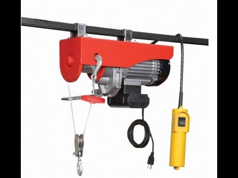 880 LB Electric cable hoist & NewAir G56 heater.