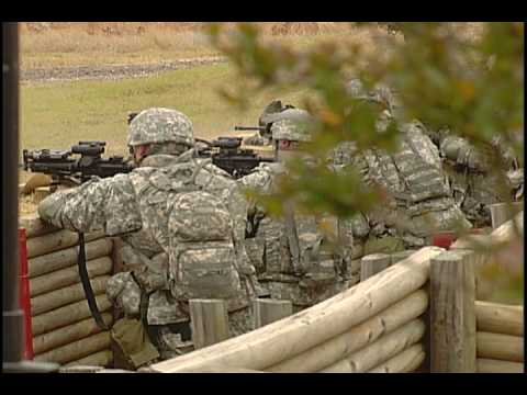 Illinois National Guard troops train at Ft. Bragg