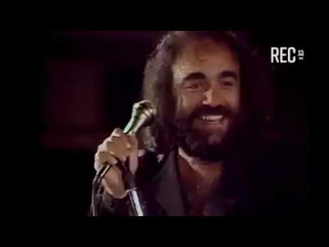 New*** Demis Roussos in Chile - Lost in Love (without Florence Warner)