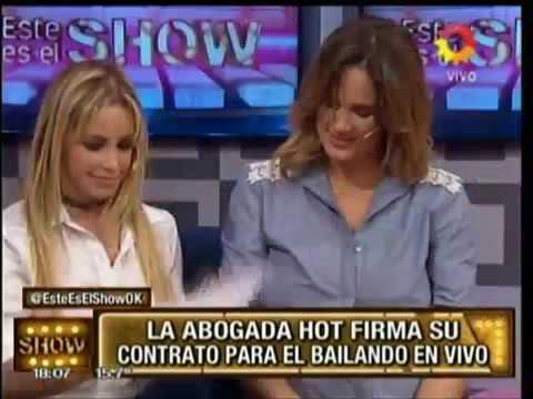 La abogada hot Fernanda Herrera aceptó la propuesta para estar en el Bailando