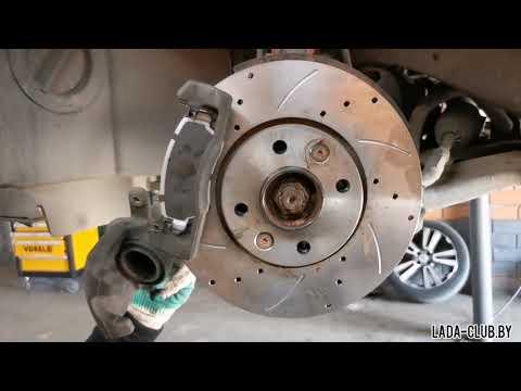 Замена тормозных колодок и дисков - подробная инструкция