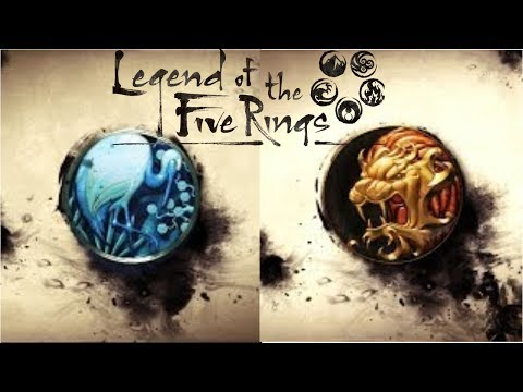 [Legend of the 5 Rings] Crane & Lion Previews // Bad Publicity