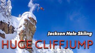 Jackson Hole Massive Air, Backcountry Skiing, Straight lines & Couloirs | O_leeps