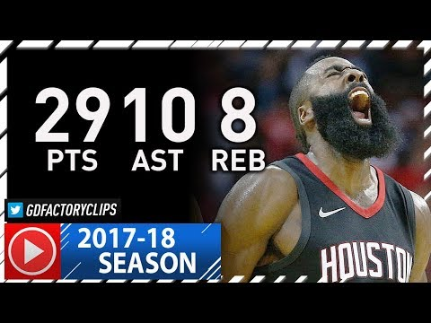 James Harden Full Highlights vs Pacers (2017.11.29) - 29 Pts, 10 Ast, 8 Reb, 1st in the WEST!