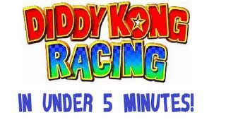 Diddy Kong Racing Beaten in Under 5 Minutes! (TAS) [Time: 4:09.25]