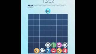 Drop7 iOS Gameplay