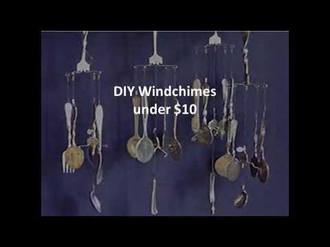 DIY Silverware Windchime