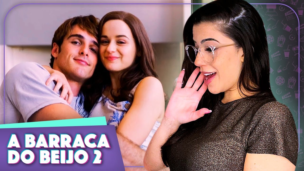 REACT A BARRACA DO BEIJO 2 TRAILER E ANÁLISE! | Vic View