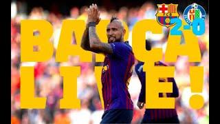 Barça - Getafe (2-0)   BARÇA LIVE   Warm Up & Match Center 🔥