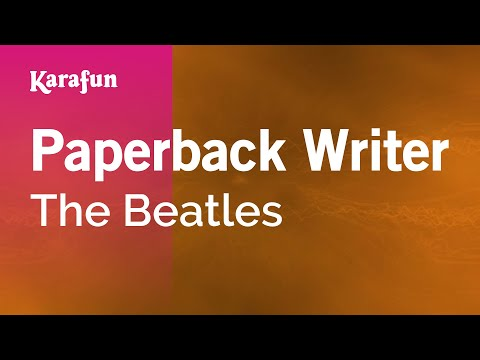 Karaoke Paperback Writer - The Beatles *