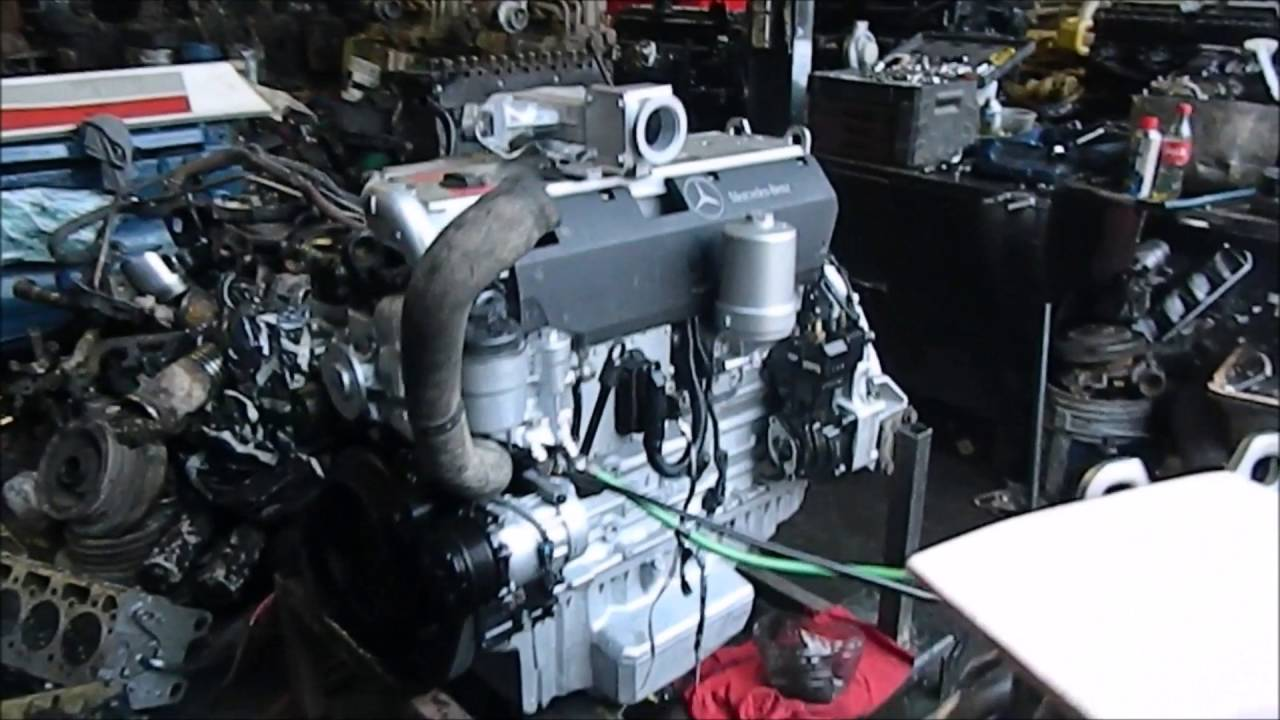 Motor mercedes 906 260 hp 2005 youtube for 5 hp motor specification