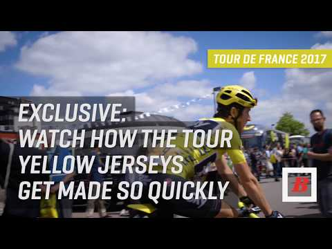 How the Tour De France Yellow Jerseys Are Made