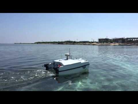 ME70 Autonomous Hydrographic survey boat