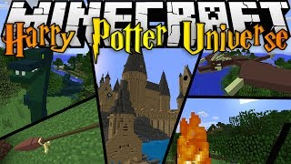 Minecraft Mods: HARRY POTTER UNIVERSE MOD (1.7.2) - WANDS, MOBS, BROOMSTICKS, AND MORE!