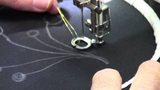 Free Motion Machine Embroidery - Part 1 - with Christopher Nejman