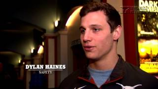 "Football players preview ""My All American"" film [March 6, 2015]"