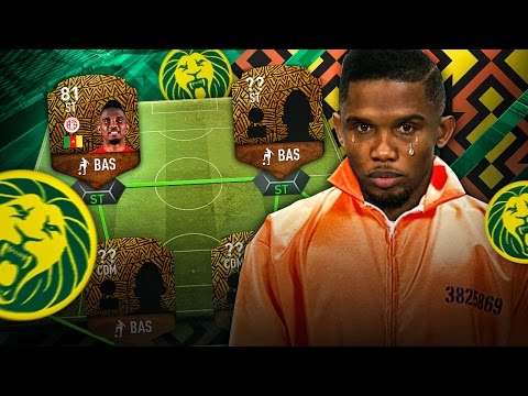 WE FREE SAMUEL ETO'O FROM PRISON THE BEST EVER AFRICAN SQUAD IN FIFA! FIFA 17 ULTIMATE TEAM