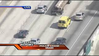 *Breaking News* Police Chase In Broward County