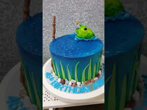 Fishing cake idea