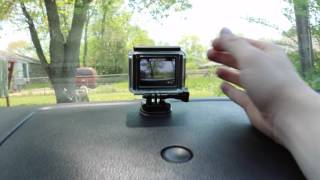 How-to Install GoPro Dashcam + Driving Test
