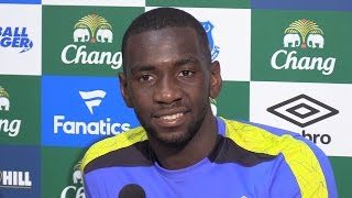 Yannick bolasie's full press conference after signing for everton