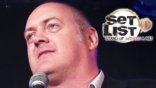 DARA Ó BRIAIN - Set List: Stand-Up Without a Net