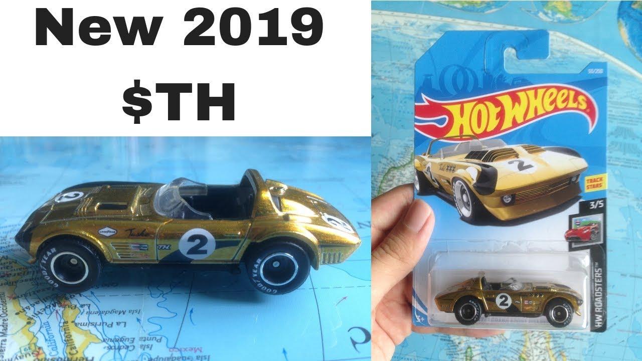 Hot Wheels 2019 C Case Super Treasure Hunt Sth Corvette Review Youtube