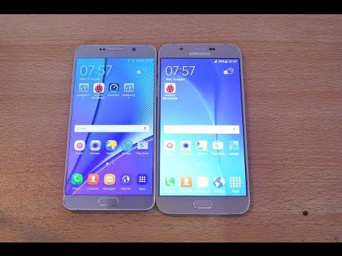 Samsung Galaxy Note 5 vs Galaxy A8 - Full Comparison HD