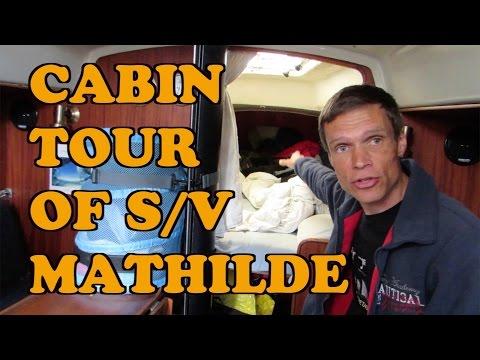 Cabin Tour of s/v Mathilde, Part 1
