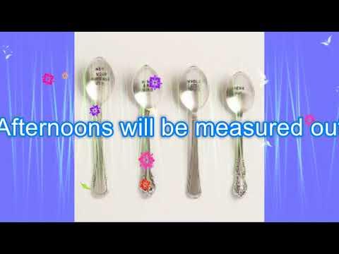 Crash Test Dummies -  Afternoons & Coffeespoons (lyrics video)