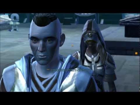 SWtOR Jedi Knight Story Cutscenes Pt. 19 [Chapter 2 / Quesh / Light Side]