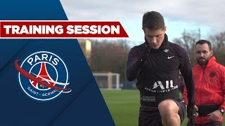 VIDEO: TRAINING SESSION: PARIS SAINT-GERMAIN vs NANTES