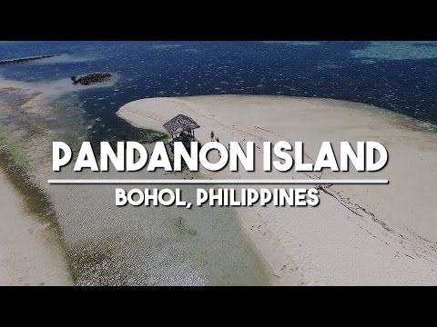 Travel to Bohol: Pandanon Island Philippines Gopro and DJI Phantom