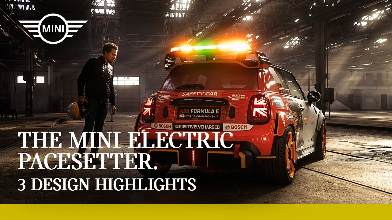3 Design Highlights: The MINI Electric Pacesetter