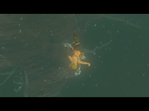 This near minute long wipeout in Zelda: Breath of the Wild is worth your time