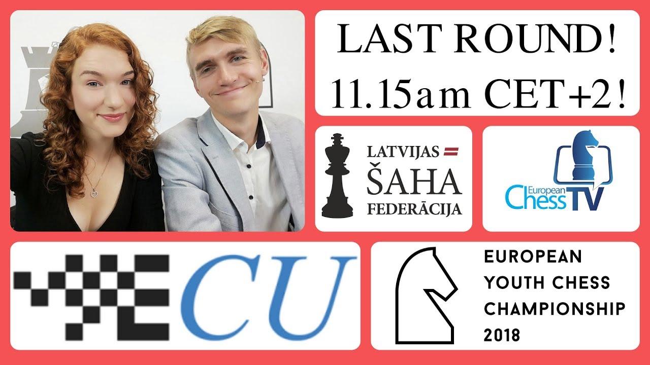 European Youth Chess Championship 2018   chess24 com