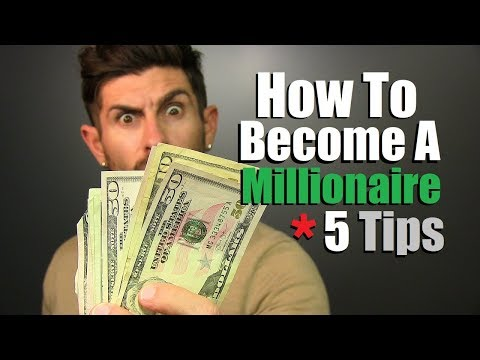 How To Become A MILLIONAIRE! (5 Simple Investment Tips To Retire RICH)
